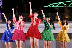 「ときめき▽ガンバ!!チャレンジツアー」最終公演の様子。