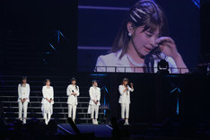 「Juice=Juice LIVE MISSION FINAL at 日本武道館」の様子。(提供:アップフロントグループ)