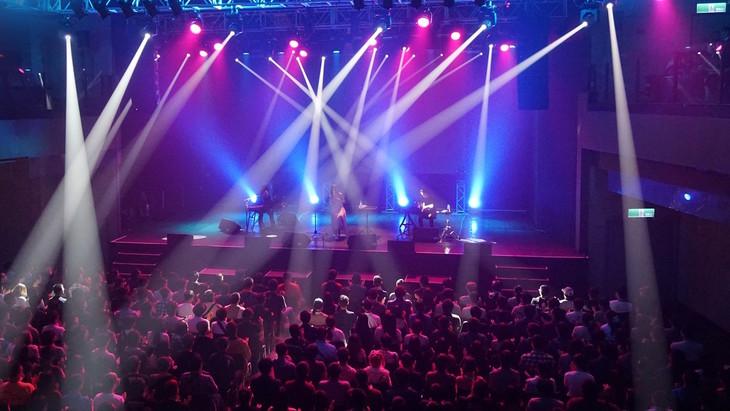 「Aimer ~like a daydream~ Taipei」の様子。(写真提供:ソニーミュージックレーベルズ)