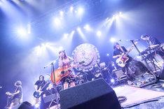大森靖子「TOKYO BLACK HOLE TOUR」Zepp Tokyo公演の様子。(Photo by Masayo)