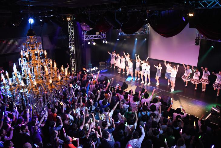 「第2回ナカGフェス」東京・新宿ReNY公演の様子。