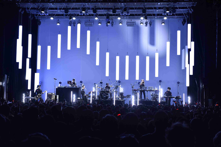 METAFIVE「WINTER LIVE 2016」東京・Zepp DiverCity TOKYO公演の様子。(撮影:三浦憲治)