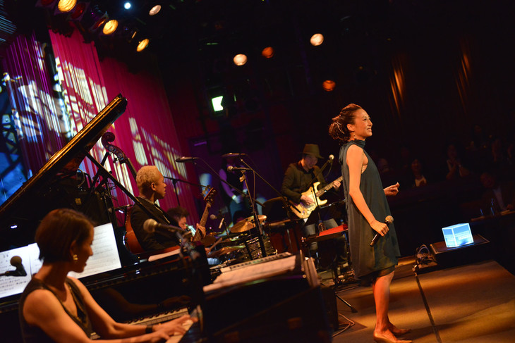 「American Express presents InterFM897×COTTON CLUB THE ROOTS OF MUSIC」12月3日公演の様子。(撮影:高田梓)