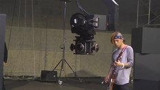 「LIVE for YOU」Dragon Ashのライブ撮影風景。