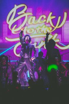 「ファンカジスタツアー2016~PUMP UP FUNK編~」Zepp DiverCity TOKYO公演の様子。(撮影:木場ヨシヒト)