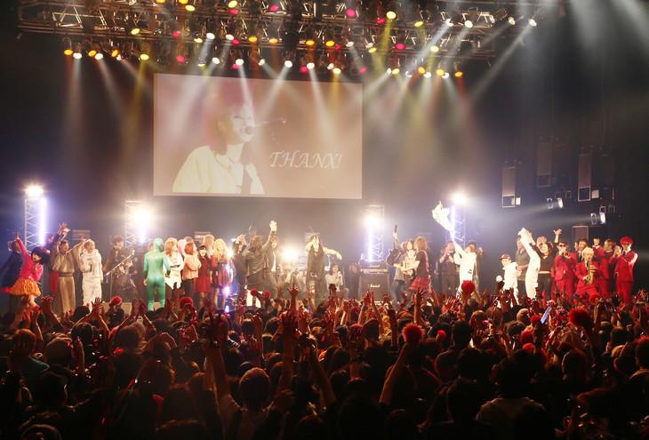 「hide Birthday Party 2016」セッションの様子。(c)HEADWAX ORGANIZATION CO.,LTD.(Photo by Hisao Yamaguchi)