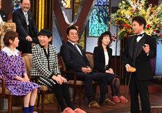 「芸能人格付けチェック!これぞ真の一流品だ!2017お正月スペシャル」の様子。(c)テレビ朝日
