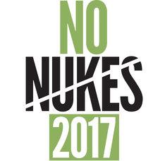 「NO NUKES 2017」ロゴ