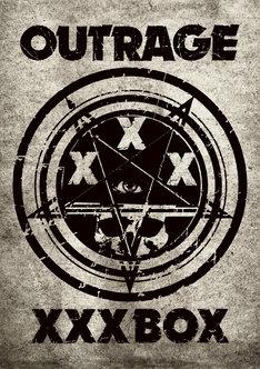 OUTRAGE「XXX BOX」ジャケット