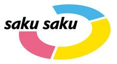 「saku saku」ロゴ