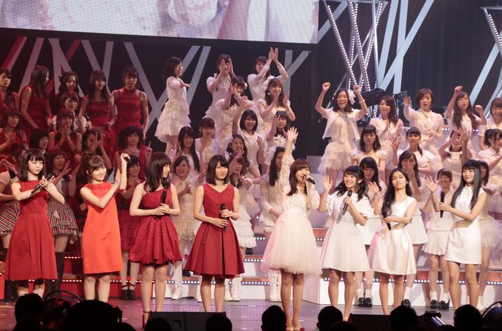 「第5回 AKB48紅白対抗歌合戦」より (c)AKS
