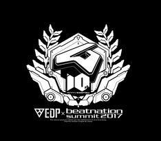 「EDP×beatnation summit 2017 -beatnation 10th Anniversary-」ロゴ
