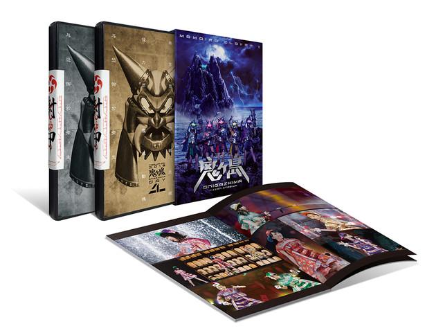 ももいろクローバーZ「桃神祭 2016 ~鬼ヶ島~」DVDパッケージ内容