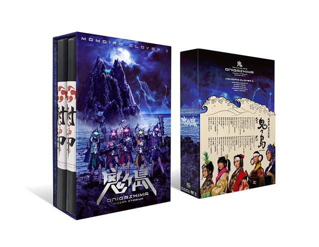 ももいろクローバーZ「桃神祭 2016 ~鬼ヶ島~」DVD外観