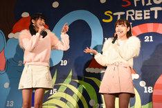 さきのんによる「NONSTOP☆DISCOTHEQUE」発売記念イベントの様子。