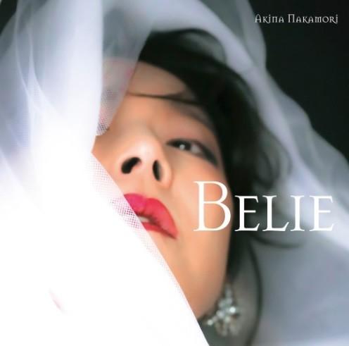 中森明菜「Belie」初回限定版ジャケット