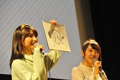 高野麻里佳と長久友紀。
