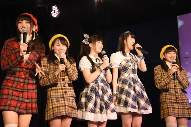 「ユニット混合ジェスチャー対決」に臨む「のっぺチーム」の5人。