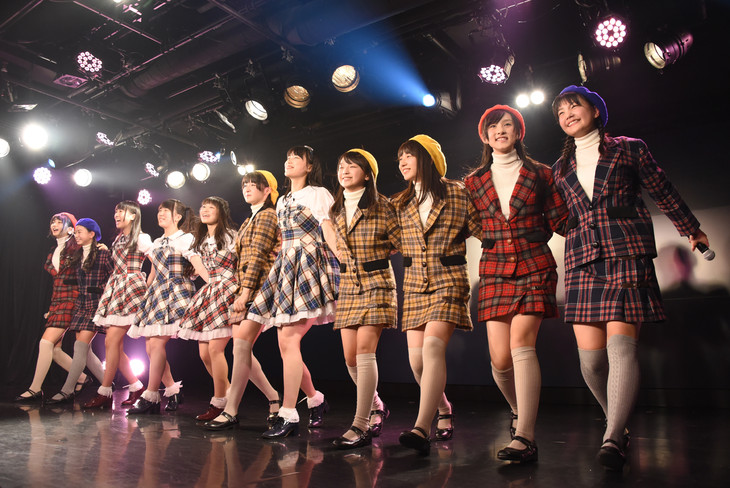 「PENGUIN DISC presents『ハコイリ▽ムスメ×RYUTist 』東京公演」の様子。