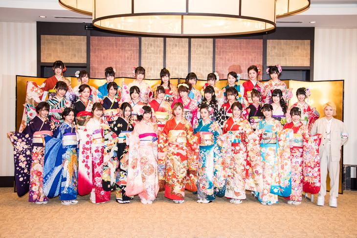 AKB48グループの新成人32名。