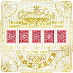 L'Arc-en-Ciel「L'Arc-en-Ciel LIVE 2015 L'ArCASINO」完全生産限定盤ジャケット