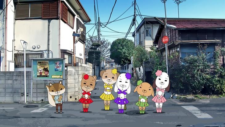 放送1000回突破記念エピソード「葛飾昔話~もも」のワンシーン。
