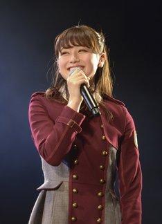 欅坂46の副キャプテンに就任した守屋茜。