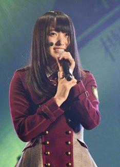 欅坂46のキャプテンに就任した菅井友香。