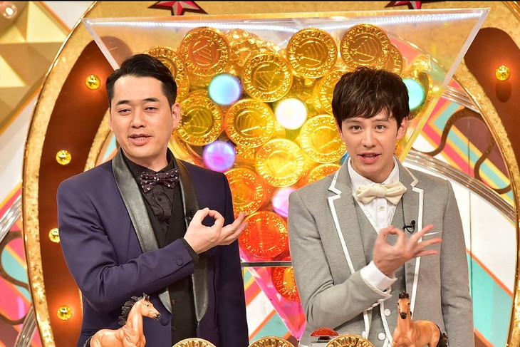 左から設楽統(バナナマン)、ウエンツ瑛士。(c)TBS