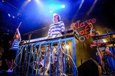 ビッケブランカ「Slave of Love TOUR 2017」 WWW公演の様子。(撮影:星野健太)