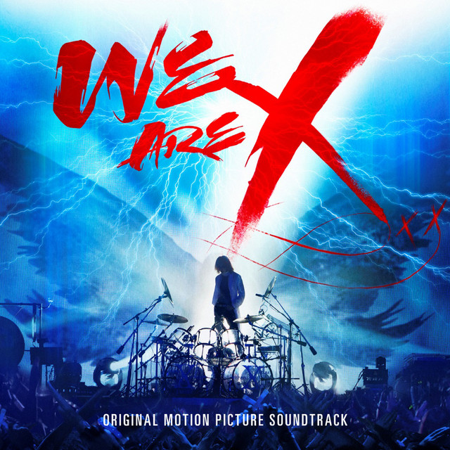 X JAPAN「WE ARE X」サウンドトラック海外盤ジャケット
