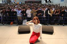 「くっすんサポーター応援会 in MEGA WEB」の様子。(撮影:中村ユタカ)