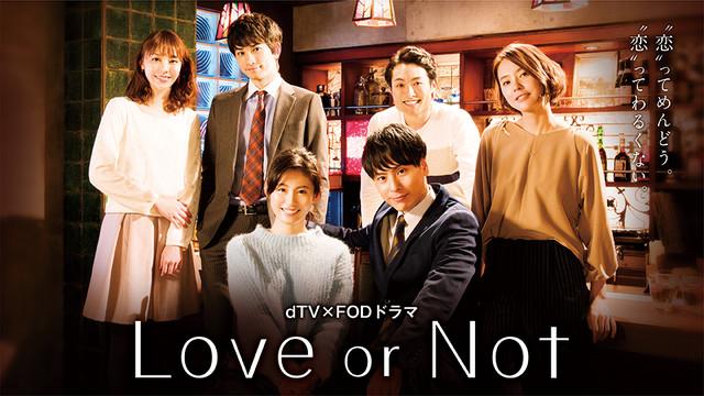 ドラマ「Love or Not」ビジュアル