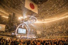 東京・日本武道館で行われた「LIVE EGG BUDOKAN ~shibuya eggman 35周年 大感謝祭~」の様子。(Photo by Daisuke Sakai [eggman , FYD inc.])