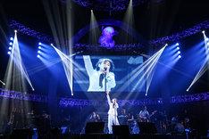 NOKKOのステージ。(Photo by Suzuki Kouhei)