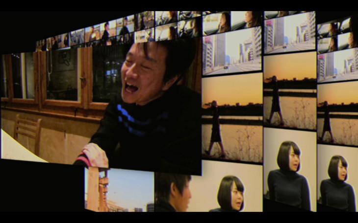 小沢健二「流動体について」ミュージックビデオのワンシーン。