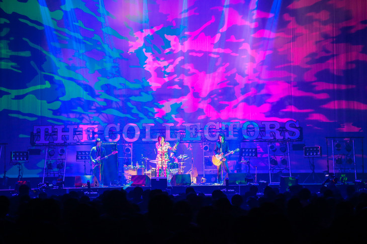 """THE COLLECTORS「THE COLLECTORS """"MARCH OF THE MODS"""" 30th Anniversary」の様子。(撮影:柴田恵理)"""