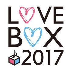 「musicるTV×BREAK OUT presents LOVE BOX 2017」ロゴ