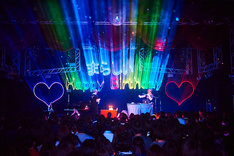 「Beat Piano Music2 release Live Tour」最終公演の様子。(Photo by saegsa)