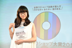 「第9回CDショップ大賞2017」準大賞を受賞したAimer。