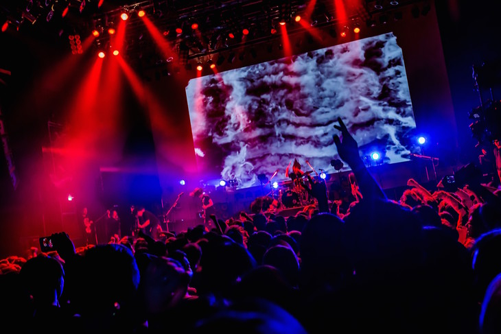 Crystal Lake「True North Tour ONEMAN SHOW」東京・TSUTAYA O-EAST公演の様子。(Photo by TAKASHI KONUMA)