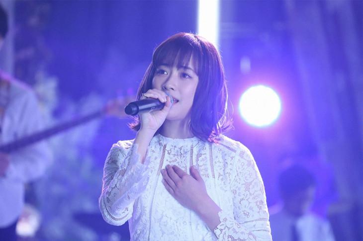 「Love music」出演時の大原櫻子。 (c)フジテレビ