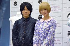 左から徳田有希、最上もが。