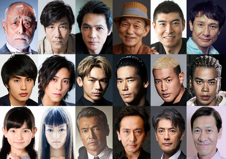 「HiGH&LOW THE MOVIE 2 / END OF SKY」「HiGH&LOW THE MOVIE 3 / FINAL MISSION」の追加出演者。