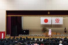 大原櫻子のサプライズライブの様子。(撮影:田中聖太郎)