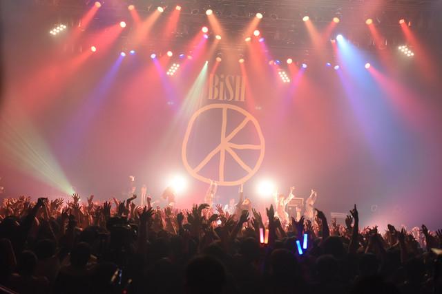 「BiSH NEVERMiND TOUR」ツアーファイナル公演の様子。