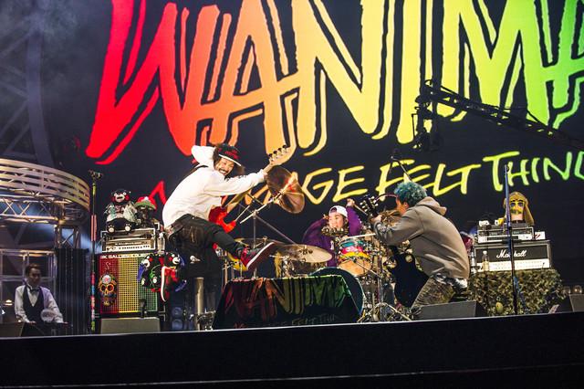 WANIMA「JUICE UP!! TOUR FINAL」の様子。(撮影:瀧本JON...行秀)