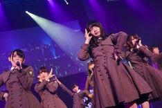 3月22日に東京・Zepp Tokyoにて開催されたけやき坂46の単独公演の様子。