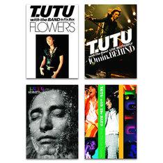 T.UTU with The BAND DVD4作品のジャケット。