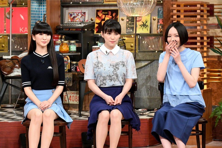 「関ジャム 完全燃SHOW」でのPerfume。(c)テレビ朝日
